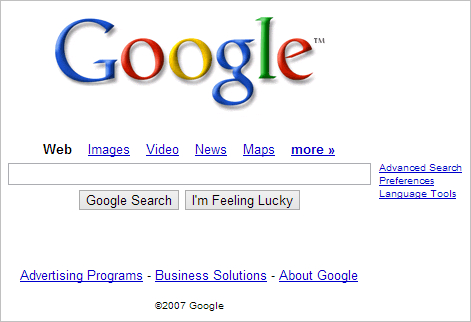 Google-website-in-2007