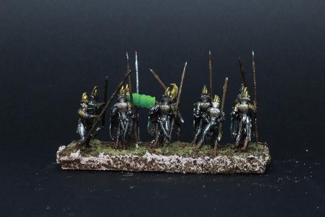 King of War :Les longues lances de la lignée.