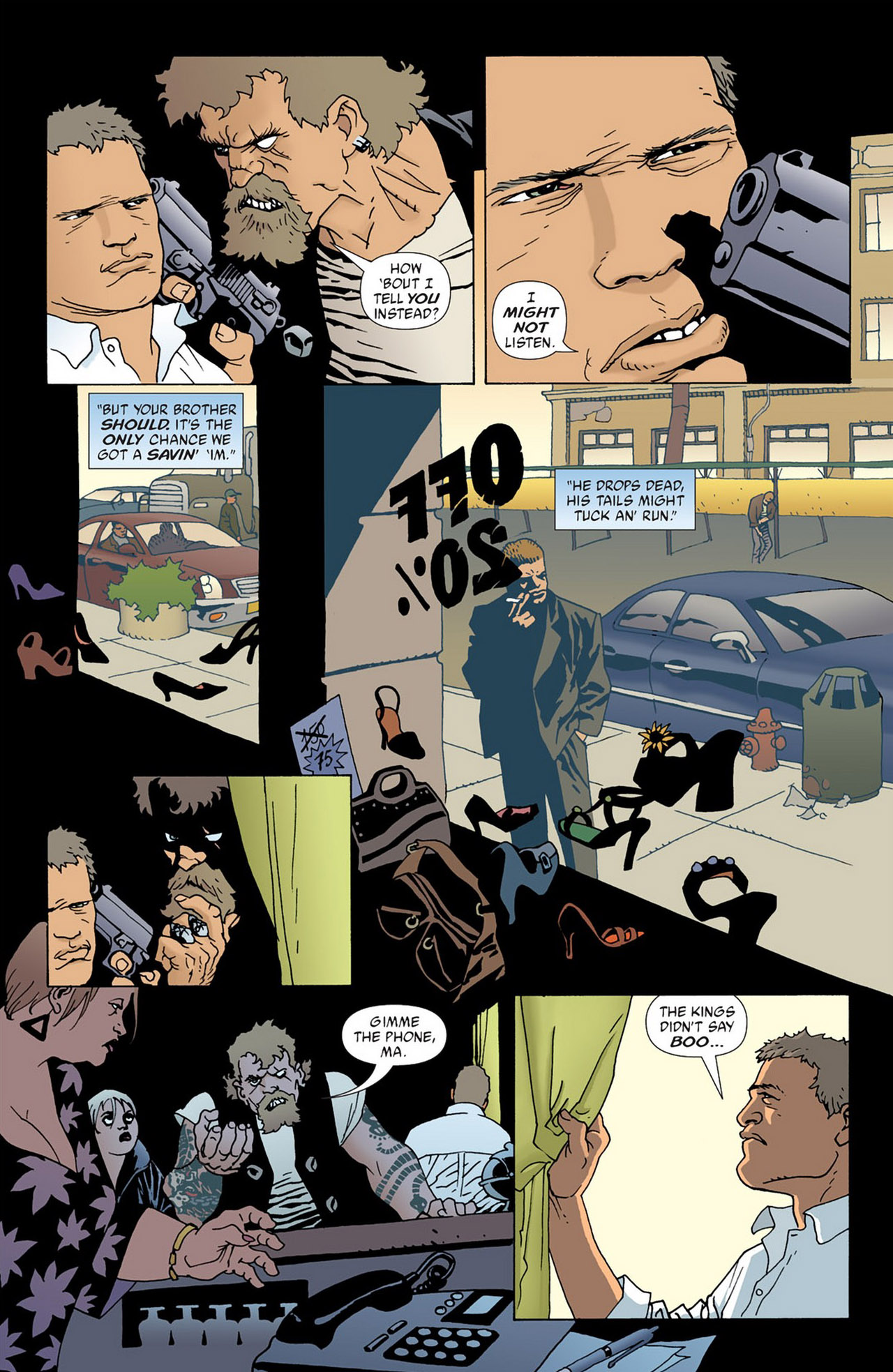 Read online 100 Bullets comic -  Issue #50 - 19