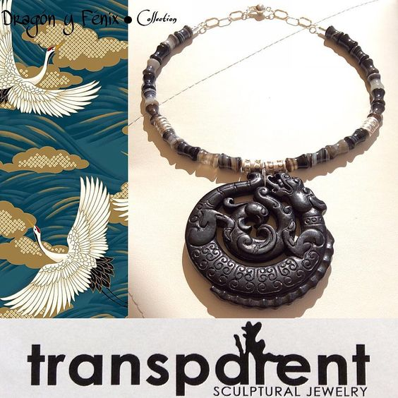 Indie creations: Transparent Sculptural Jewelry Dragòn y Fenix Collection by Marta Roura Castellò