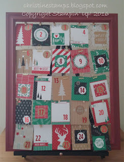 Hello December 2016 Stampin' Up!
