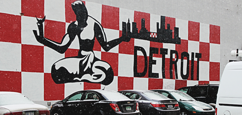 downtown detroit michigan
