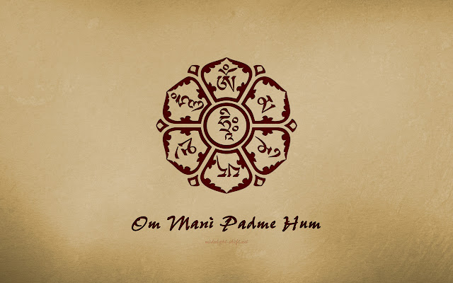 Mantra Om Mani Padme Hum pronuncia e traduzione: Video Buddha della Compassione e protettore di chi è in imminente pericolo.