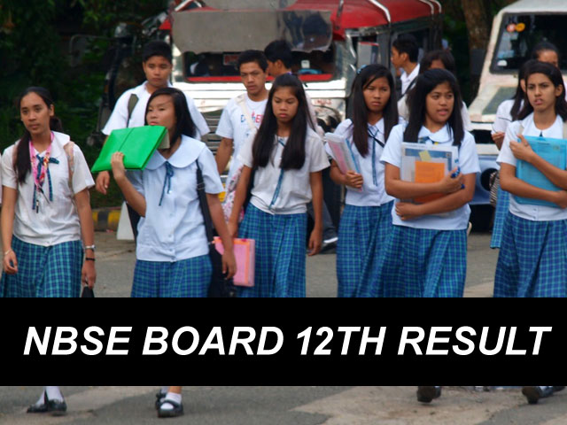 NBSE HSSLC Result 2018 Nagaland Board 12th Result Check Online