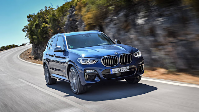 BMW X3 M40I New Essentials 2018 front view