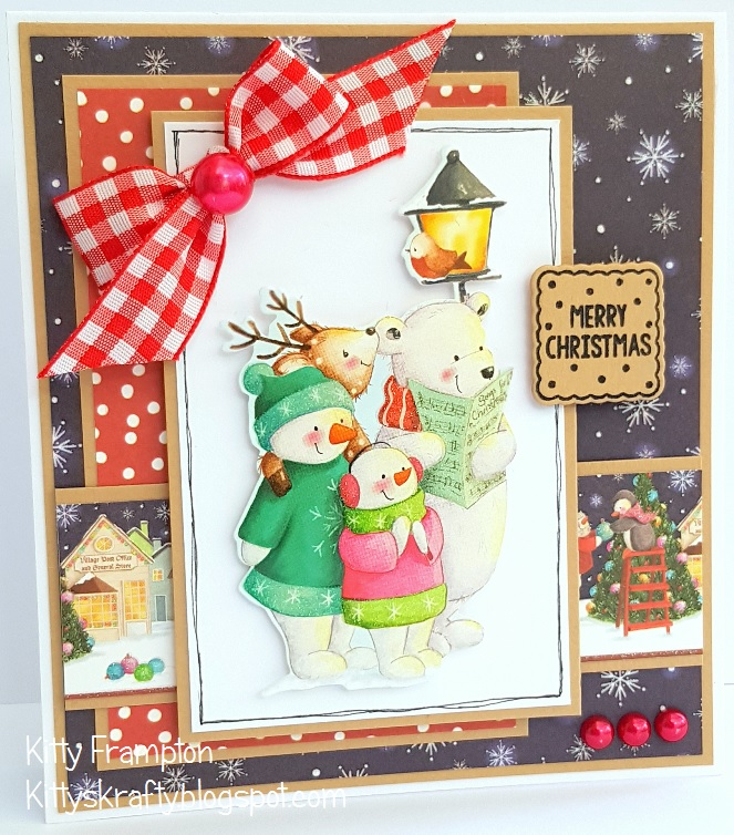 Helz Cuppleditch The Night Before Christmas Gems for cards and crafts