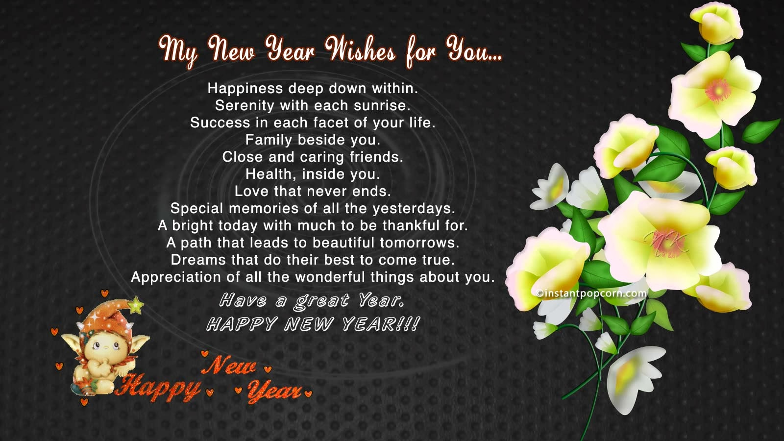 shayri wallpapers: wishes of happy new year