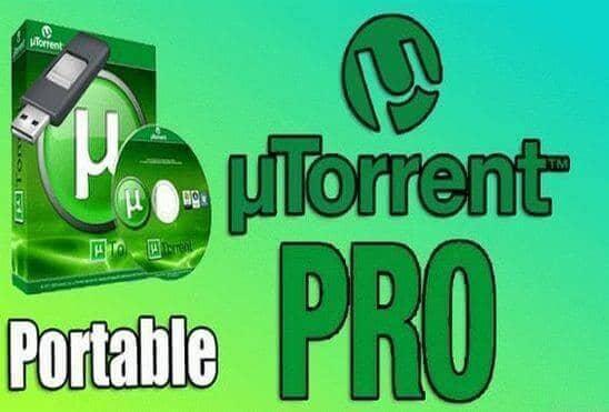 تحميل برنامج uTorrent Pro Portable عملاق تحميل ملفات التورنت نسخة محمولة مفعلة