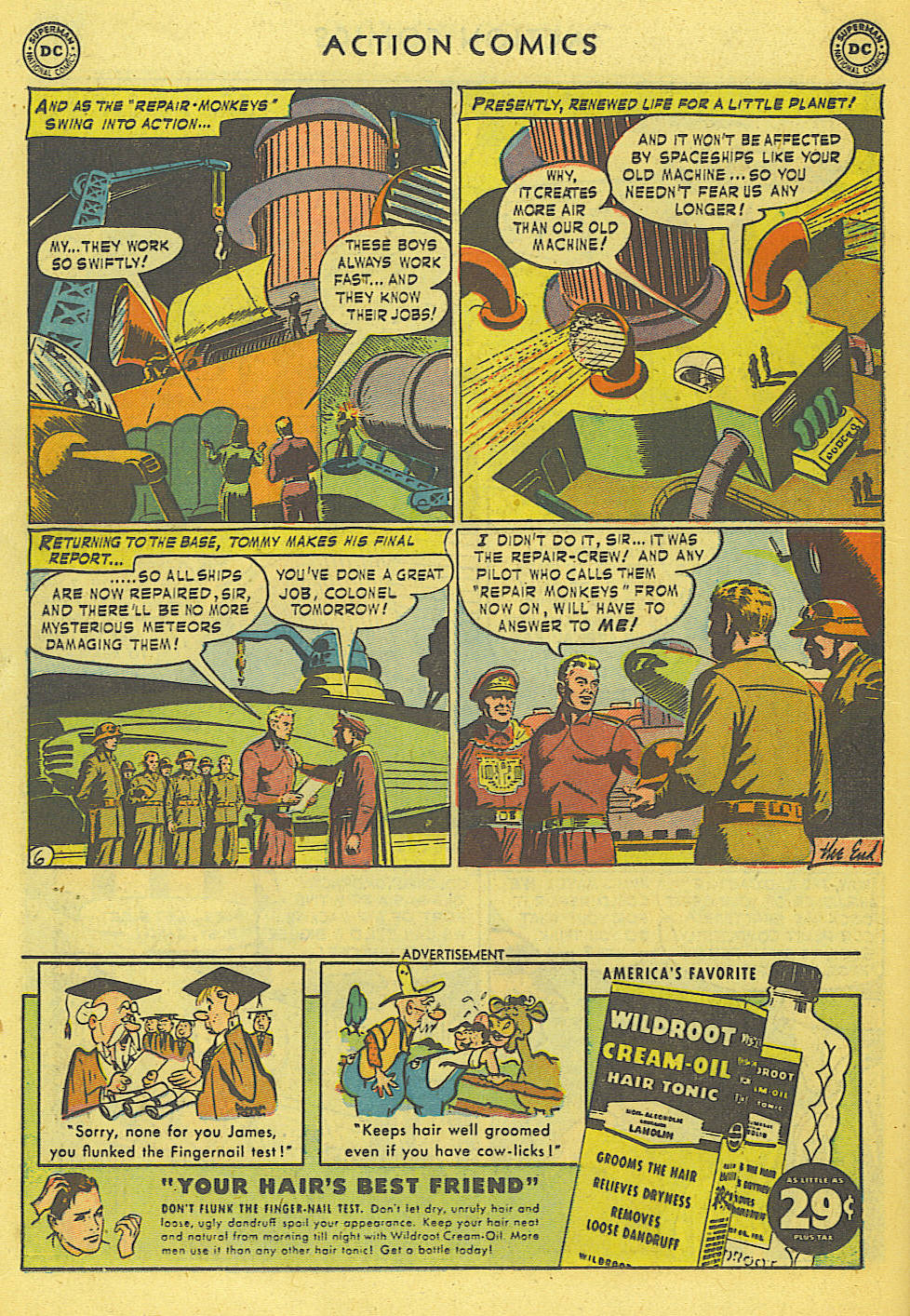 Read online Action Comics (1938) comic -  Issue #168 - 20