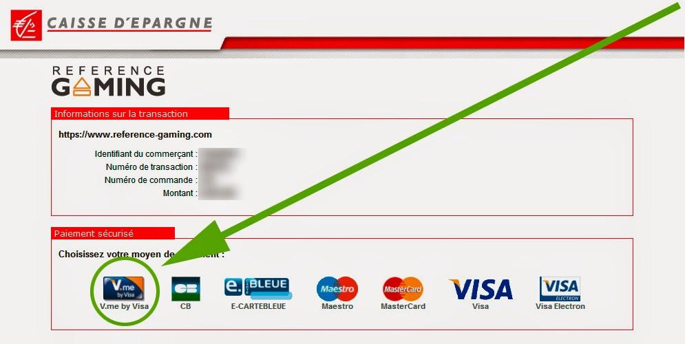 By visa le nouveau moyen de paiement disponible sur - Plafond carte bleue visa caisse d epargne ...