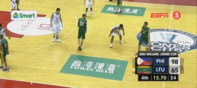 Ateneo def. Lithuania, 98-65 (REPLAY VIDEO) Jones Cup 2018