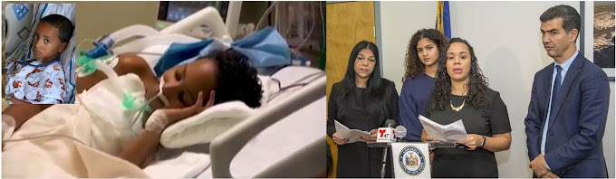 Abren campaña en Nueva York para trasplante de corazón a niño dominicano con tres  cirugías en válvula mitral