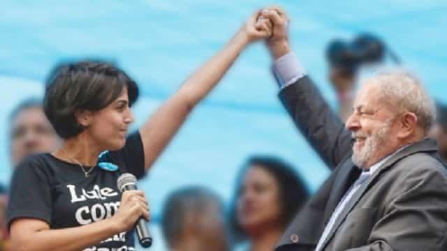 Lula e Manu. Foto: Rodrigo Positivo