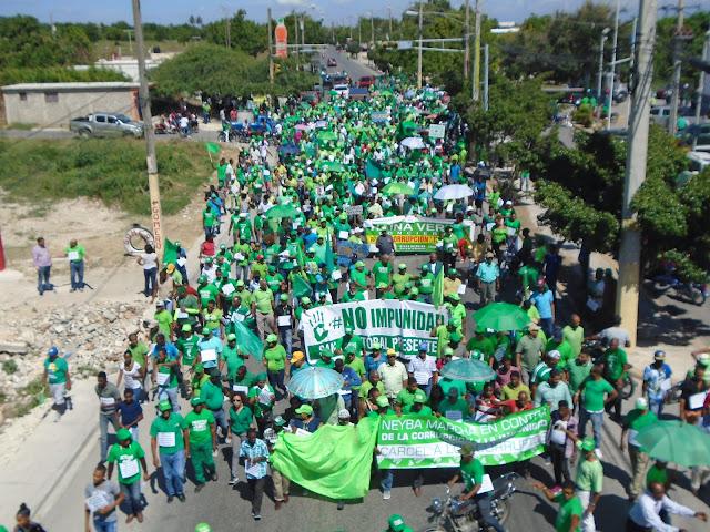 Marcha Verde realizó exitosa concentración en Barahona