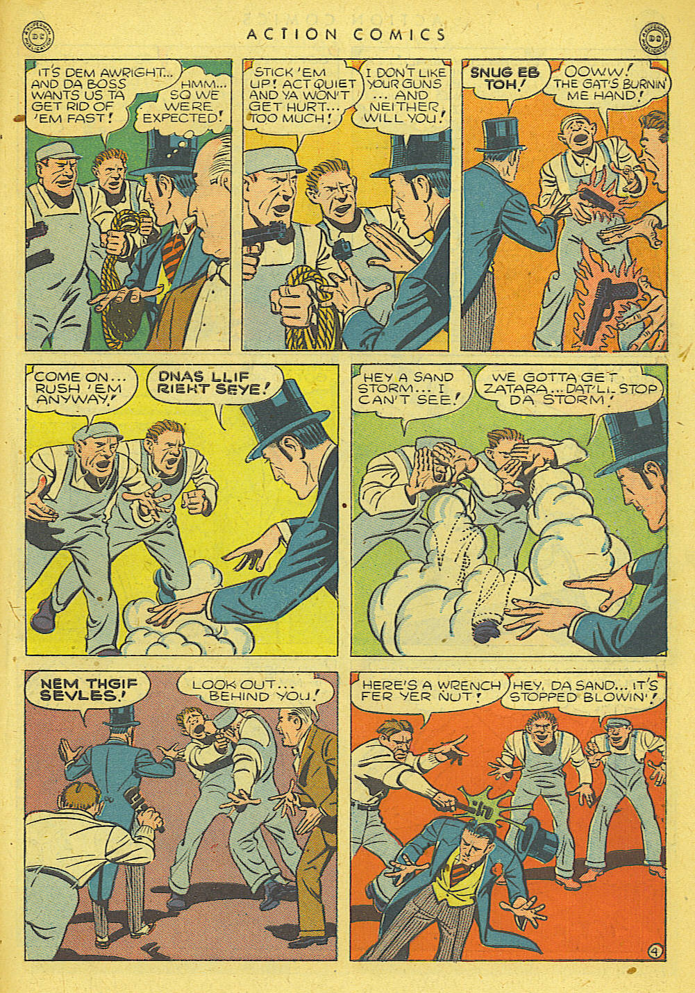 Read online Action Comics (1938) comic -  Issue #78 - 39