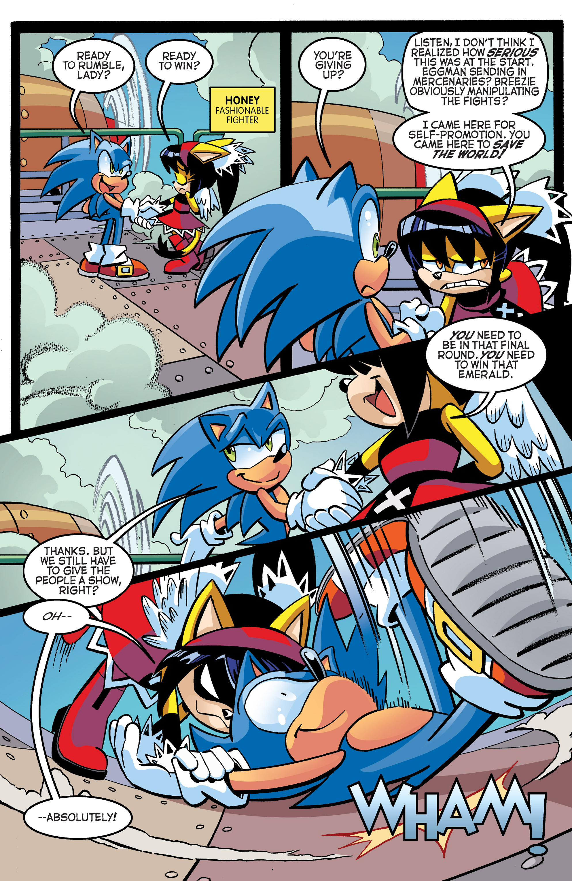 Read online Sonic The Hedgehog comic -  Issue #270 - 13