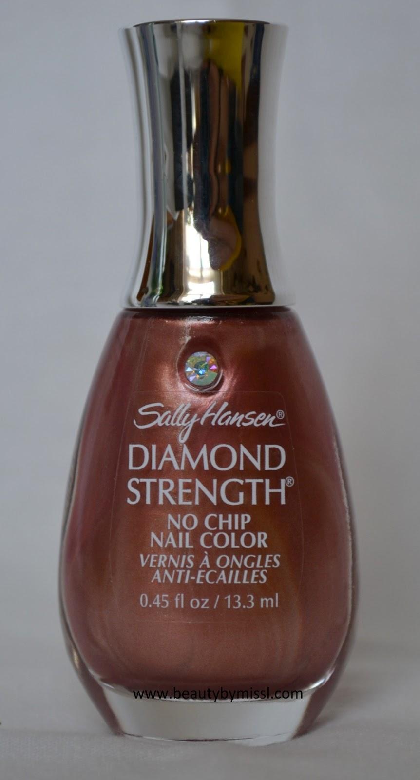 Diamond Strength nail polish