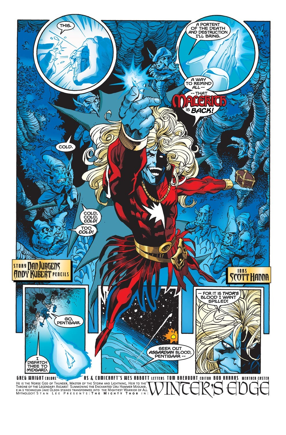 Thor (1998) Issue #30 #31 - English 4