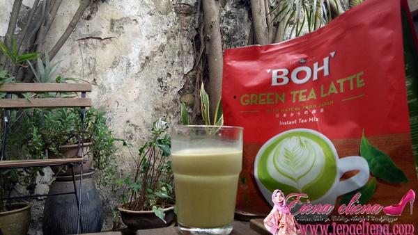 BOH Green Tea Latte
