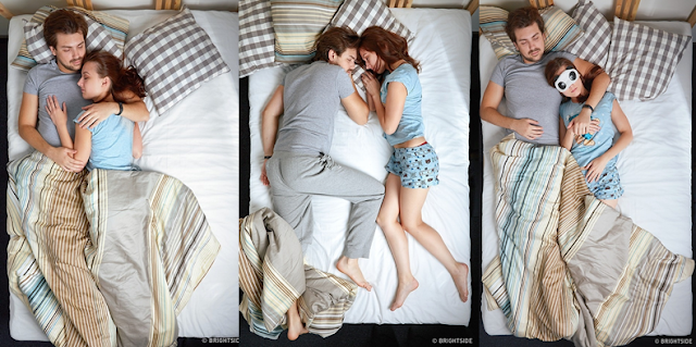 14 Posisi Tidur Yang Menunjukkan Bagaimana Kondisi Hubungan Mu Dengan Pasangan Mu