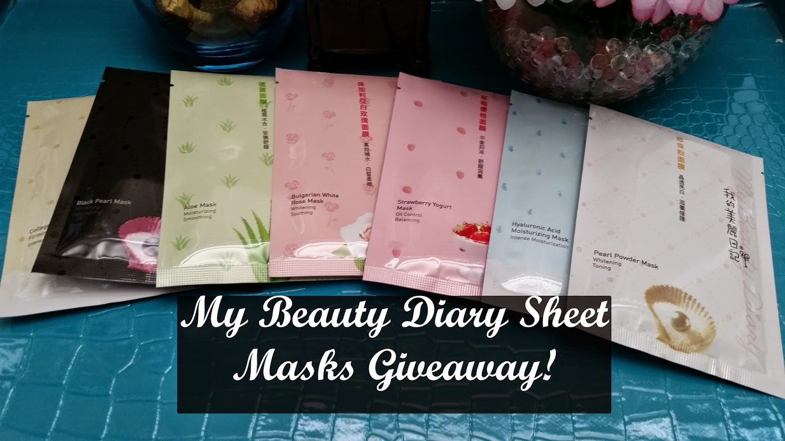 My Beauty Diary Sheet Mask Giveaway