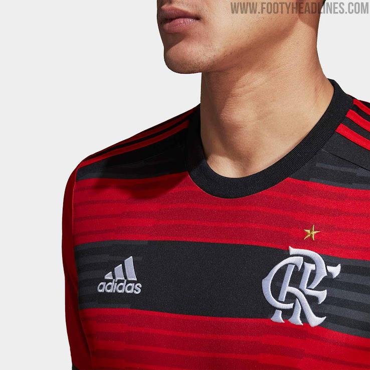 fd74633629c Adidas Flamengo 2018-19 Home   Away Kits Released - Footy Headlines