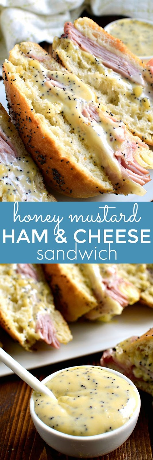 HONEY MUSTARD HAM & CHEESE SANDWICH