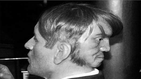 historia del hombre de dos caras