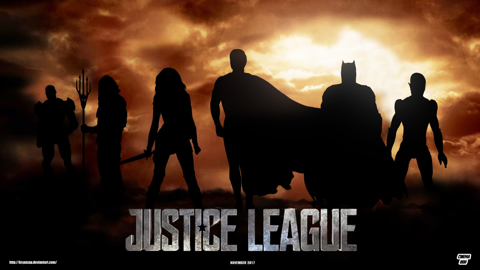 Justice League Full HD Wallpapers - DC Poster