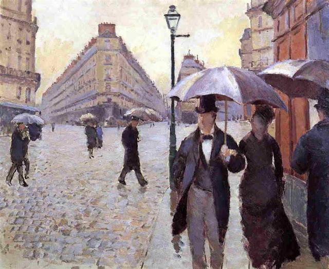 Gustave Caillebotte, Regen, Frust, Geld, unglücklich, Arbeit, Montag, Träume, Wünsche, Arbeitswoche, unzufriedenheit, painting, bild, malerei, poetische Art