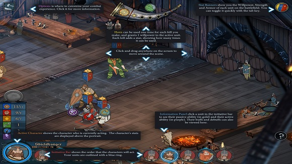 playing Viking saga where your strategic choices directly affect your personal journey The Banner Saga-GOG