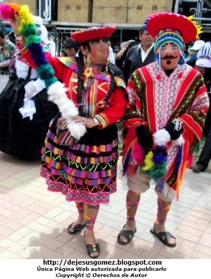 Foto de la pareja de cuzqueños de la Tunantada por Jesus Gómez