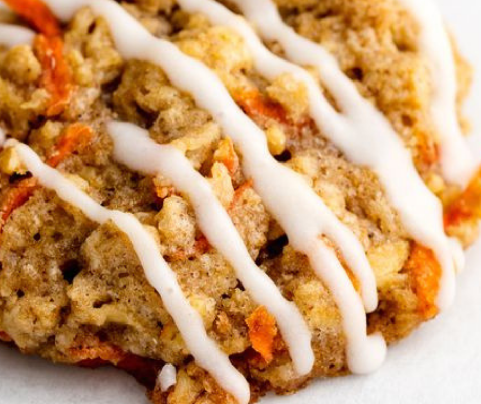 Carrot Cake Cookies - food-drink-recipes.com