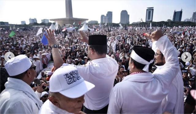 Jutaan Alumni 212 Siap Turun ke Jalan Bela Anies Baswedan