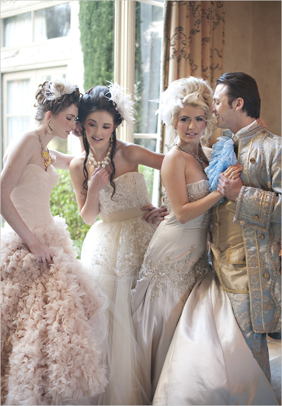 Complete With Lavish Gowns Gold Table Decor Grandiose Fl Arrangements And Of Course A Prince Charming