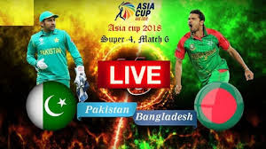 Ban vs Pak Asia Cup 2018 cricket live score full highlight
