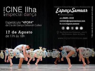 Cine Ilha - Especial Dança - Deborah Colker