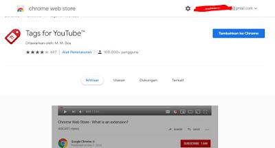 Cara Mengetahui Tag Video Youtube yang Digunakan Orang Lain