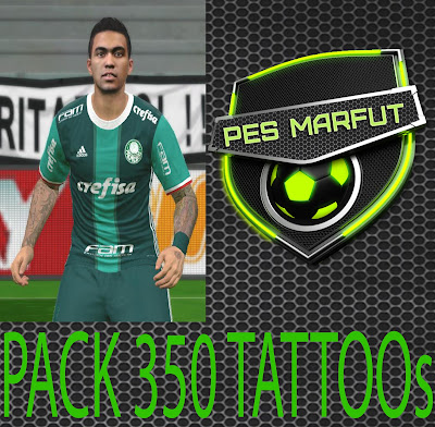 PES 2016 TattooPACK 350 by Marcéu