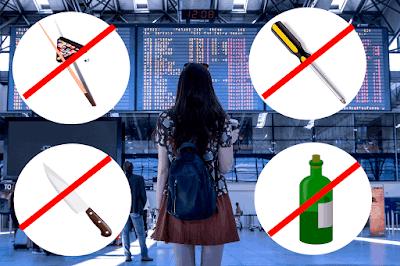 Articulos Prohibidos en el Aeropuerto