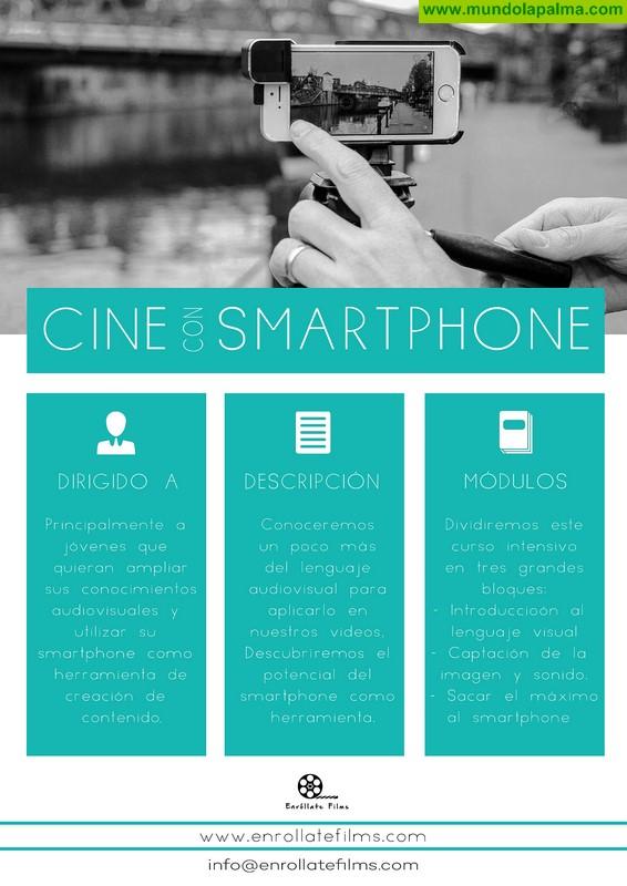 El Cabildo imparte un curso para sacar el máximo provecho al teléfono móvil como herramienta creativa para el audiovisual