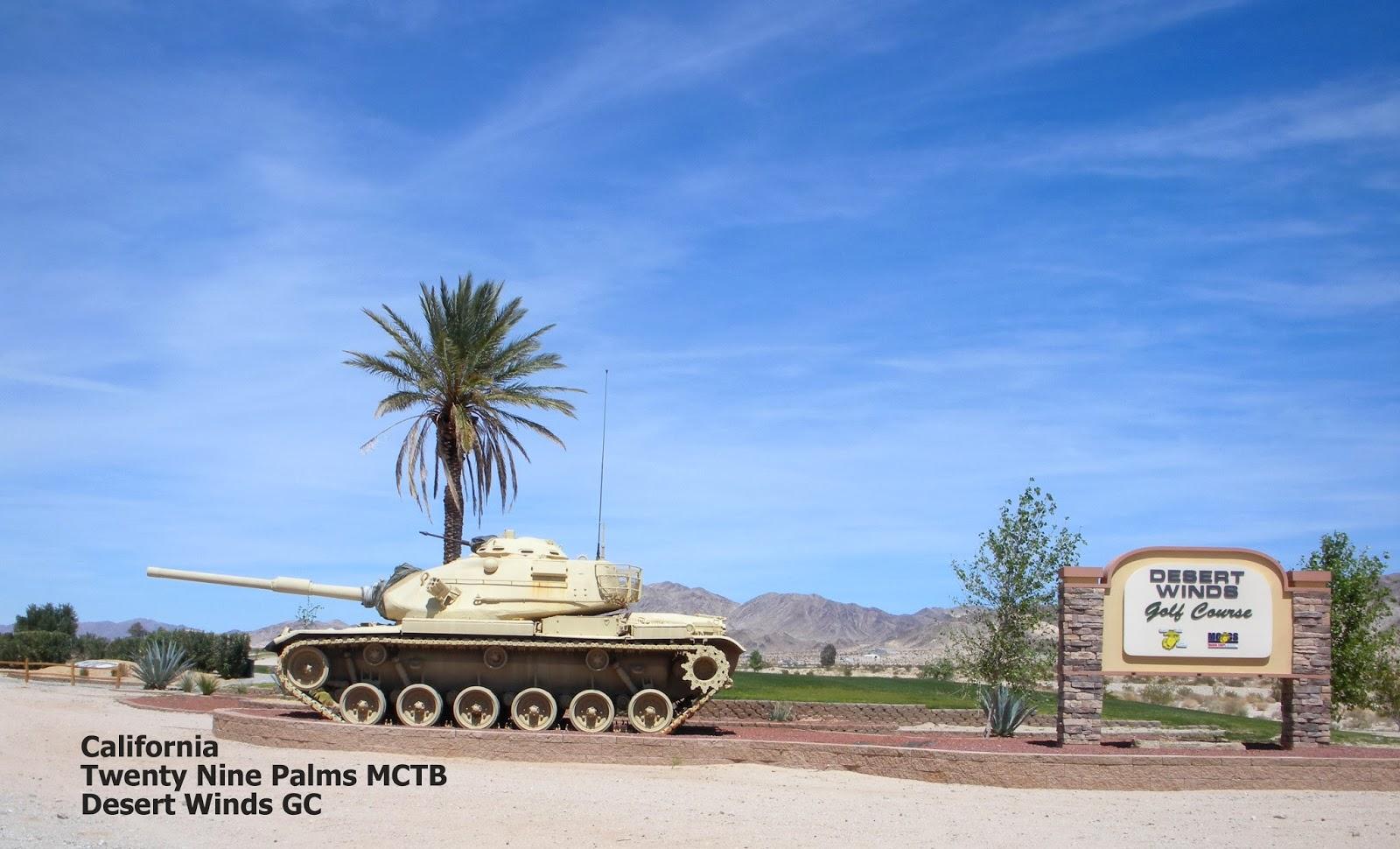MSG Divot's Golf Recon: Twentynine Palms Marine Corps Air