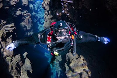 drysuit diving iceland