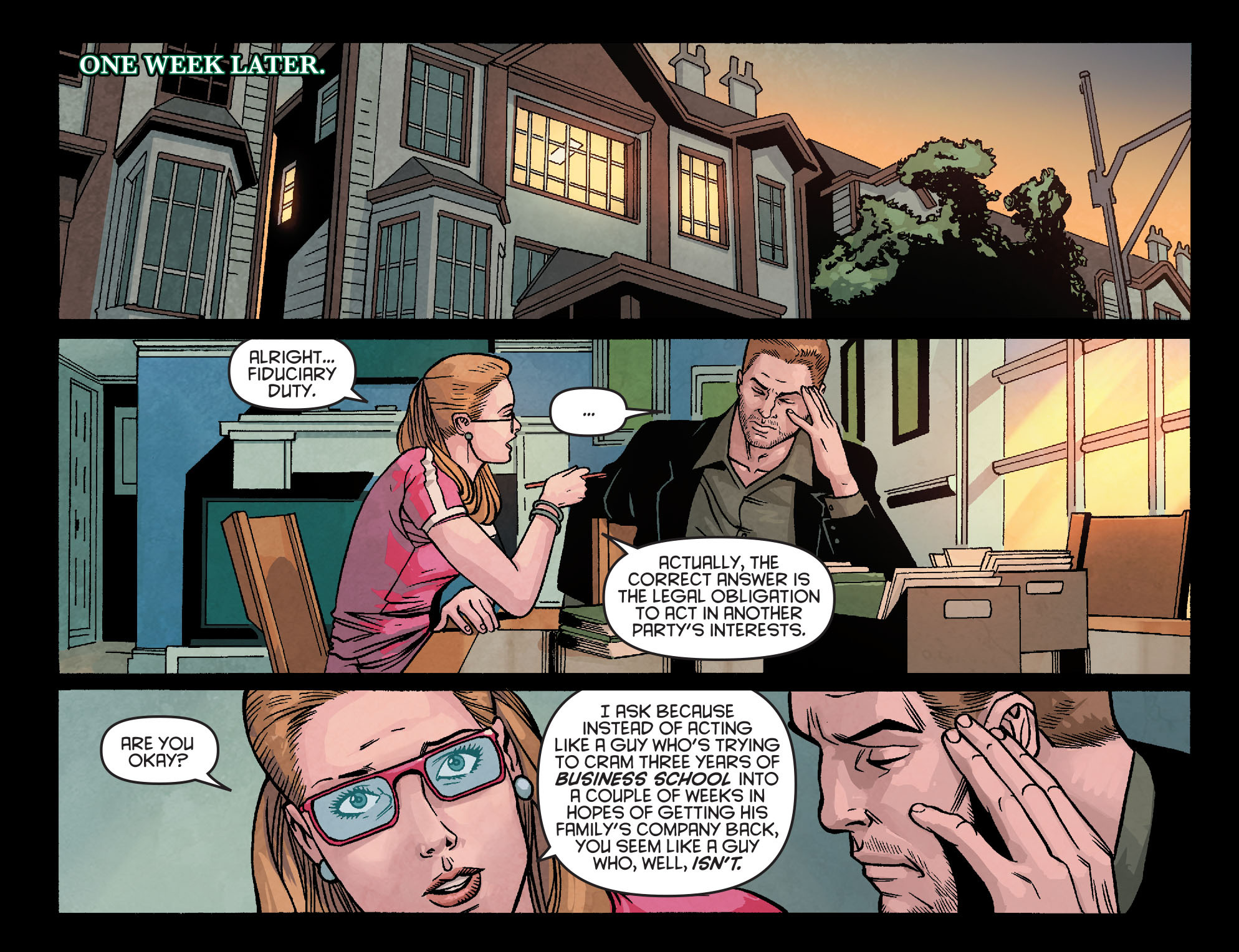 Read online Arrow: Season 2.5 [I] comic -  Issue #23 - 11