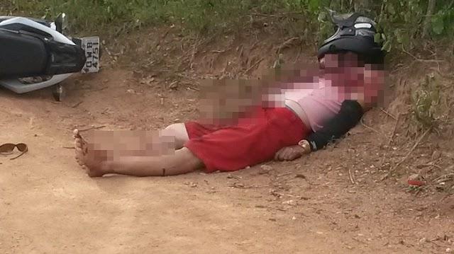 Jovem é assassinado a tiros de pistola no Sertão da Paraíba; Ele seguia em uma rodovia quando foi morto