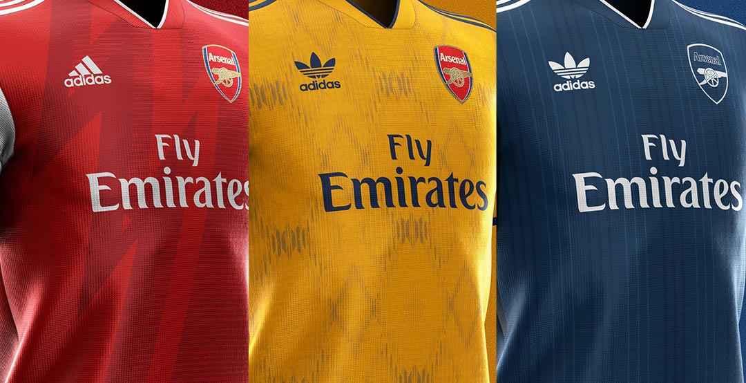 7ff41c2c1bc Adidas Arsenal 19-20 Home, Away & Third Kit Concepts by Saintetixx ...