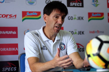 Lagi Bagus, Pelatih Arema FC Sesumbar Bisa Taklukan PSM Makassar