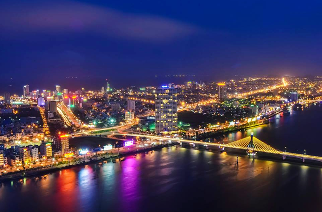 Ví trí dự án Marriot Đà nẵng giữa lòng thành phố