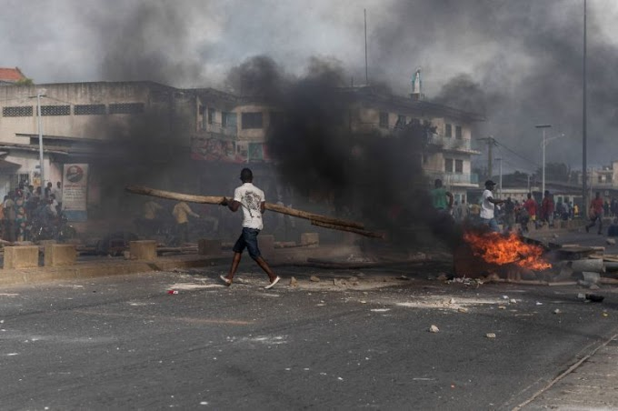Benin protesters in army standoff after poll violence