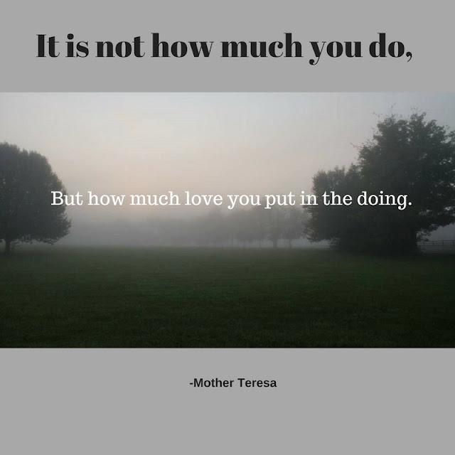 Put love into the doing.- Mother Teresa #ad #FamilyCaregiving